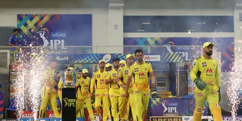 IPL 2021 Final   Still haven't left behind my legacy, quips MS Dhoni on his CSK future
