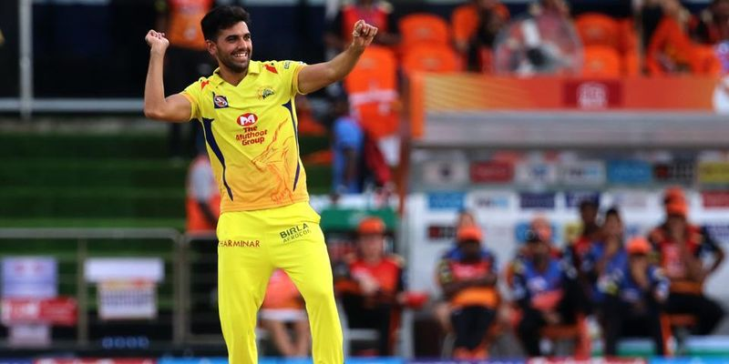 CSK's Deepak Chahar out of IPL for 2 weeks with hamstring strain